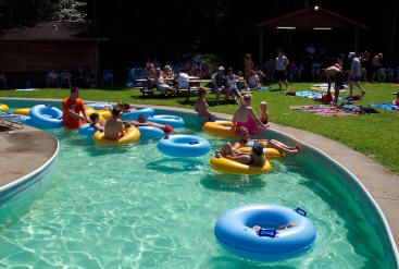 Julian wv water ways water park features two giant - Swimming pools with slides north west ...