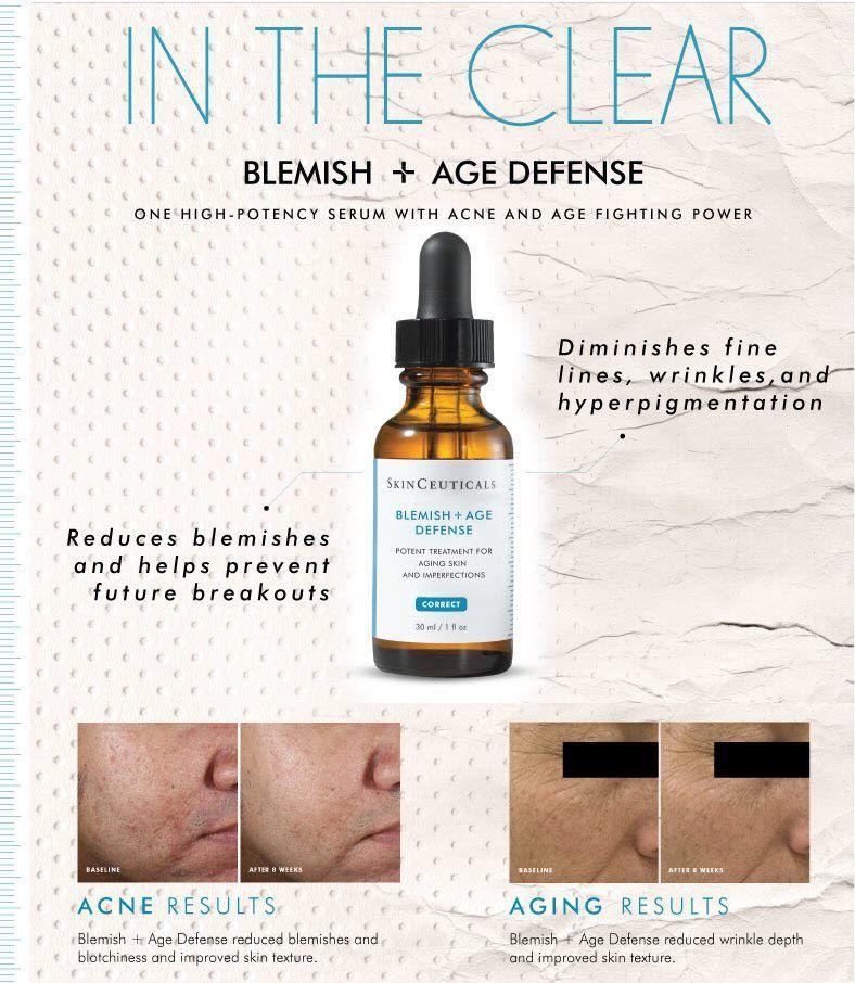 Skinceuticals Blemish Age Defense Skinceuticals Skincare Face Medical Beauty Spaspringridge Northb Skinceuticals Celebrity Skin Care Advanced Skin Care