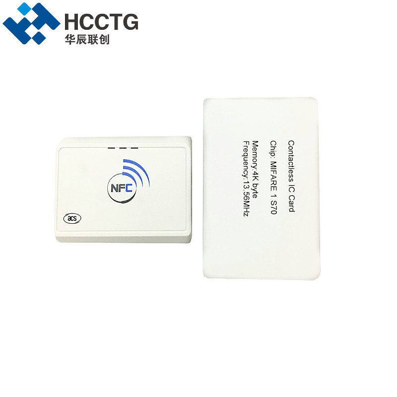 Contactless 13 56Mhz Nfc Reader Bluetooth Android Rfid Mobile Phones