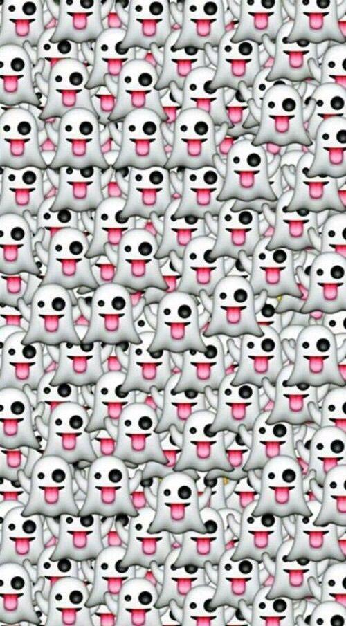 Ghost Wallpaper And Emoji Image Emoji Images Wallpaper Emoji Wallpaper