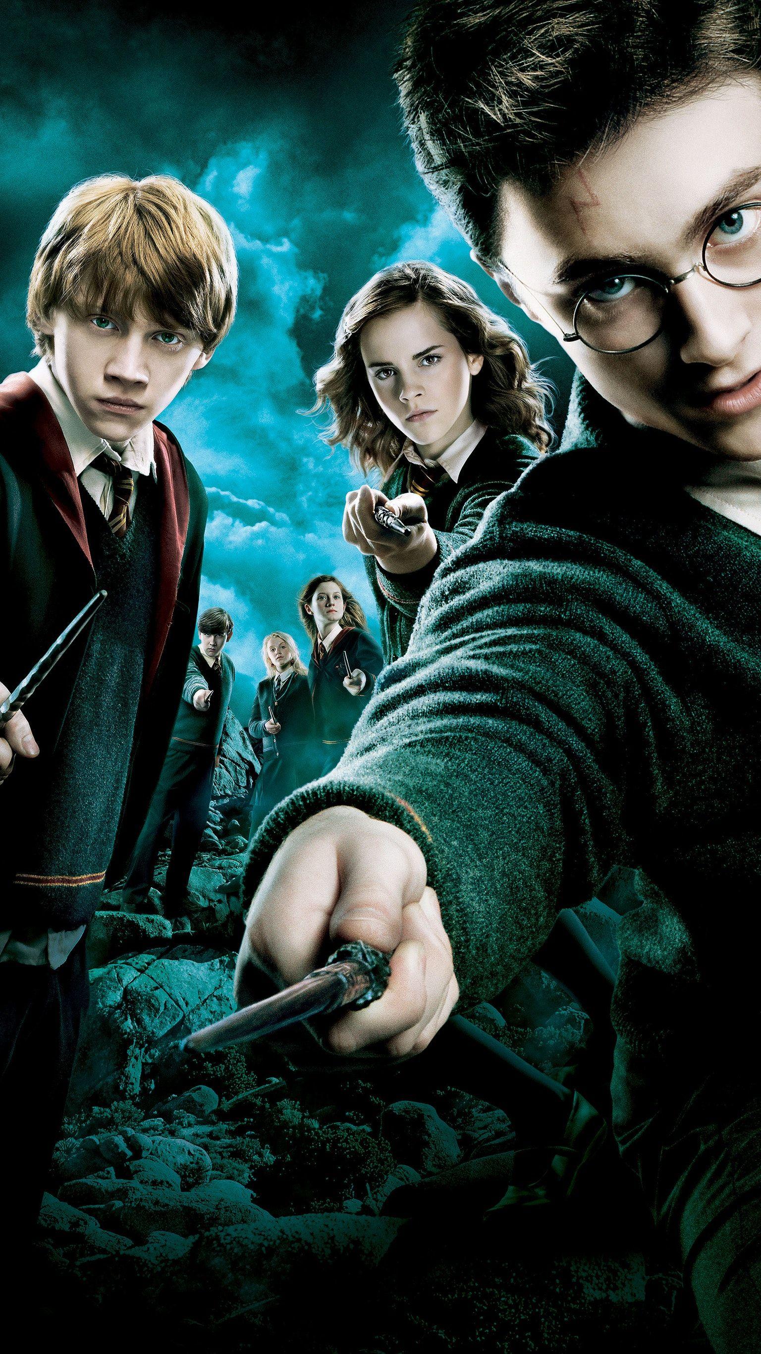 Harry Potter Liste Des Films : harry, potter, liste, films, Harry, Potter, Order, Phoenix, (2007), Phone, Wallpaper, Moviemania, Order,, Poster