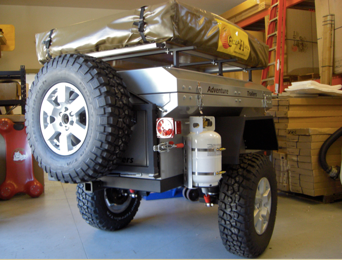 Off Road Hard Sided Popup Trailer Pirate4x4.Com : 4x4 and