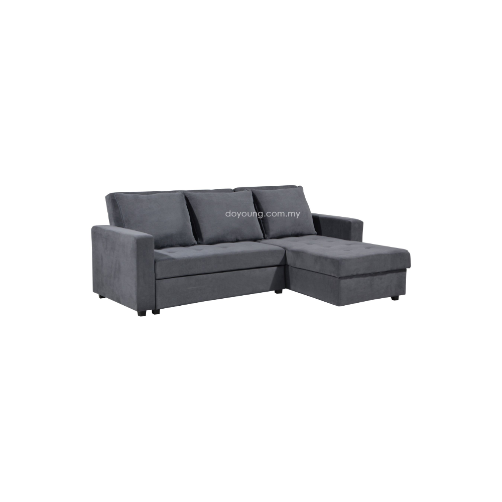 Jytte 225cm 3 Seater Sofa Bed With Storage Sofa Bed King Sofa