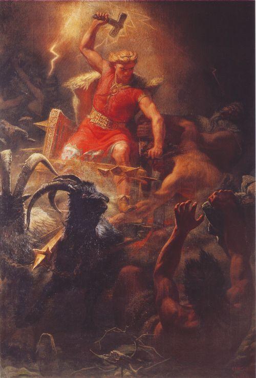 Donnergott Thor