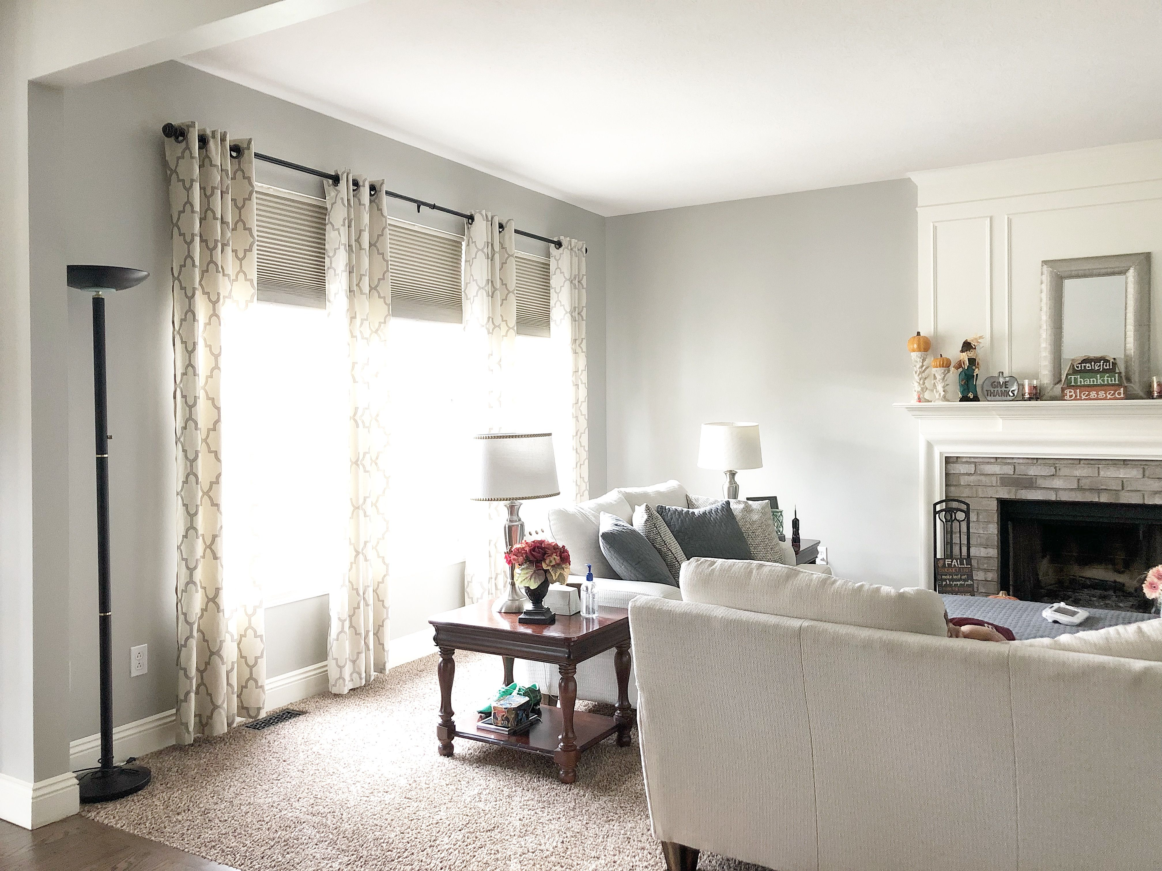 Sherwin Williams Mindful Gray In The Family Room Mindful Gray Sherwin Williams Mindful Gray Home Mindful gray living room