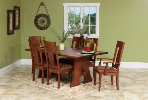 Appalachia Dining Room Set | Amish Furniture | Solid Wood Mission Shaker  Furniture | Chicago Area