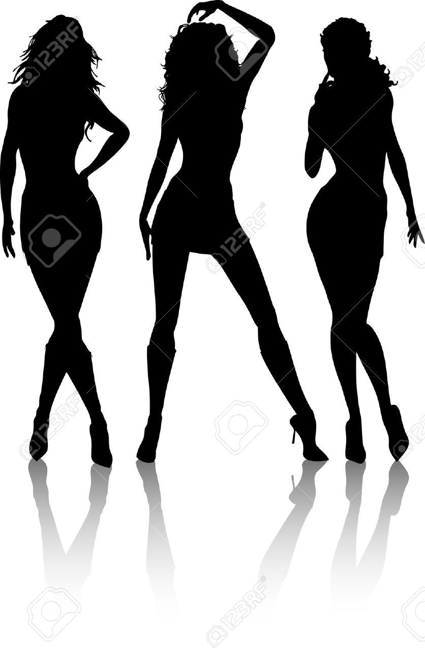 Pin By Anto Andrianto On Silhouettes Woman Silhouette