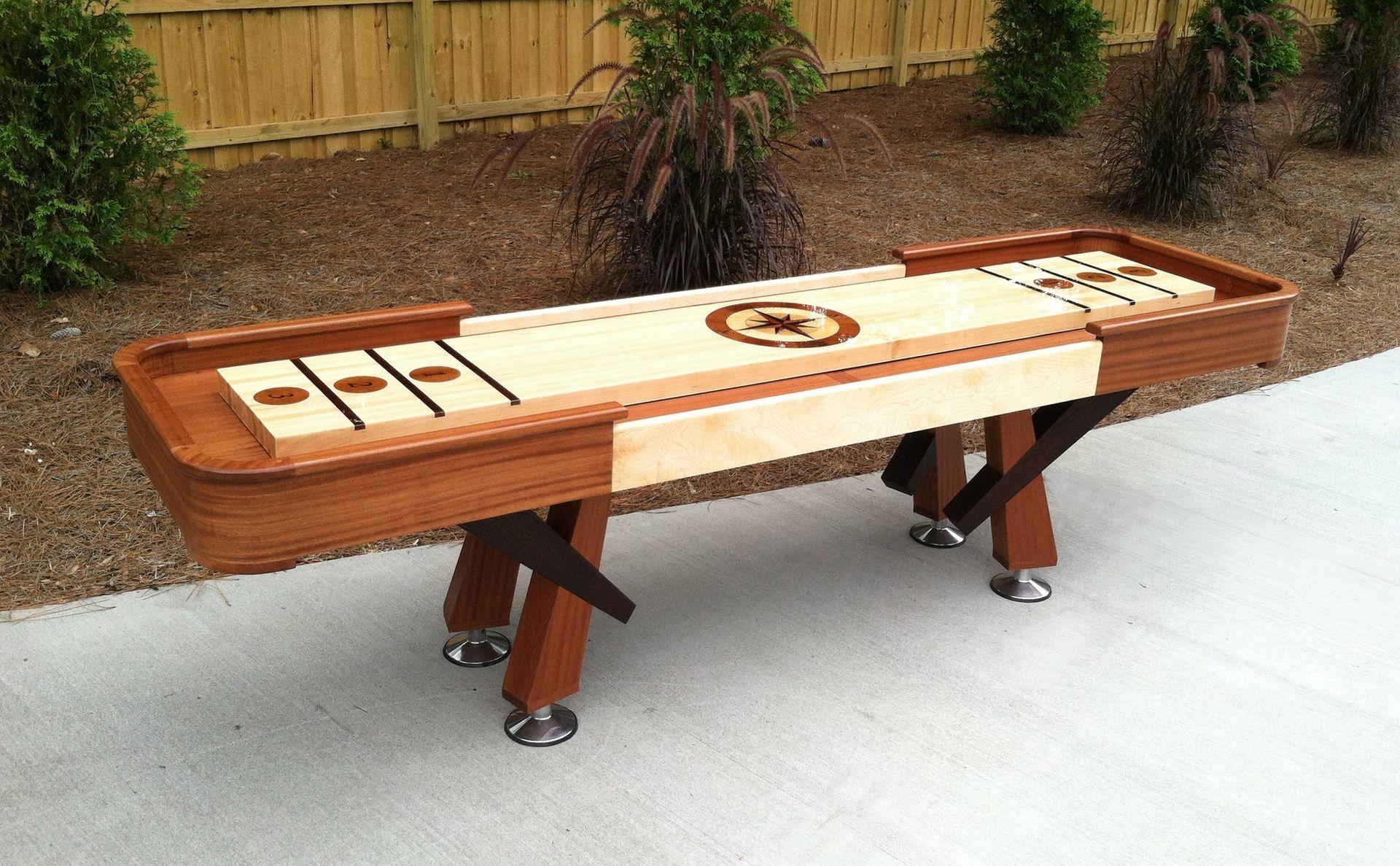 Custom Shuffleboard Table Traditional Of American Media Dreamdelightinspire
