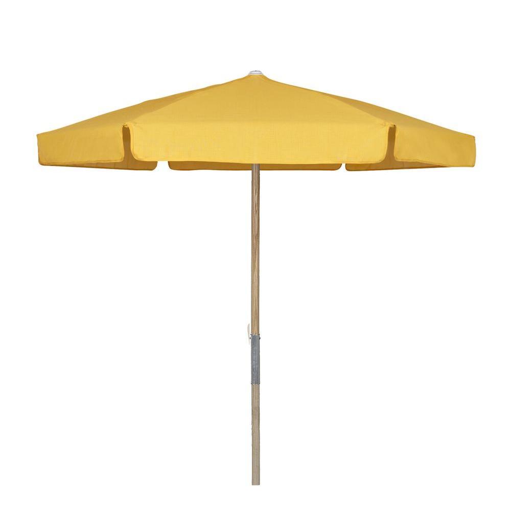 7 5 ft wood beach patio umbrella with