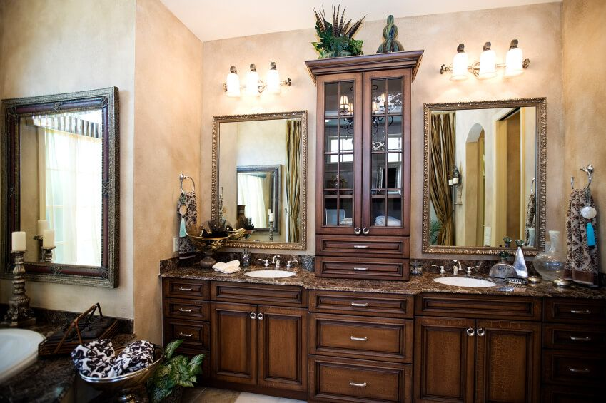 52 Primary Bathroom Designs With Beautiful Woodwork Master Bathroom Master Bathroom Design Bathroom Remodel Master