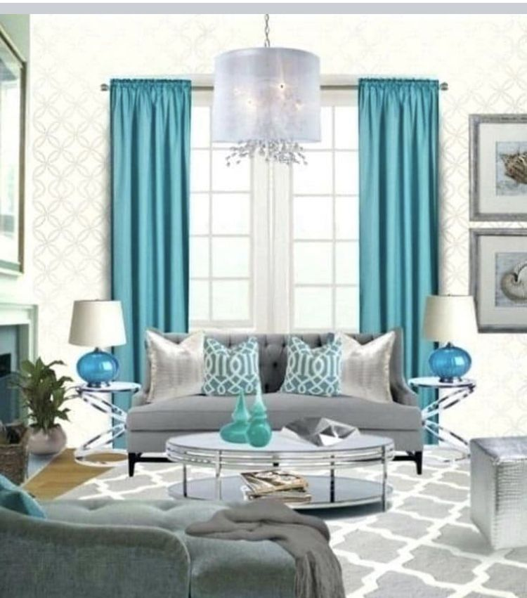 Pin By Siordia Yasmeli On Huis Idiees Turquoise Living Room Decor Living Room Turquoise Grey And Turquoise Living Room