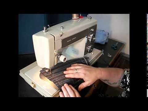 Demonstration Video Of A Vintage Kenmore 158 14100 Sewing Machine Sewing Machine Sears Sewing Machine Sewing Machines Best