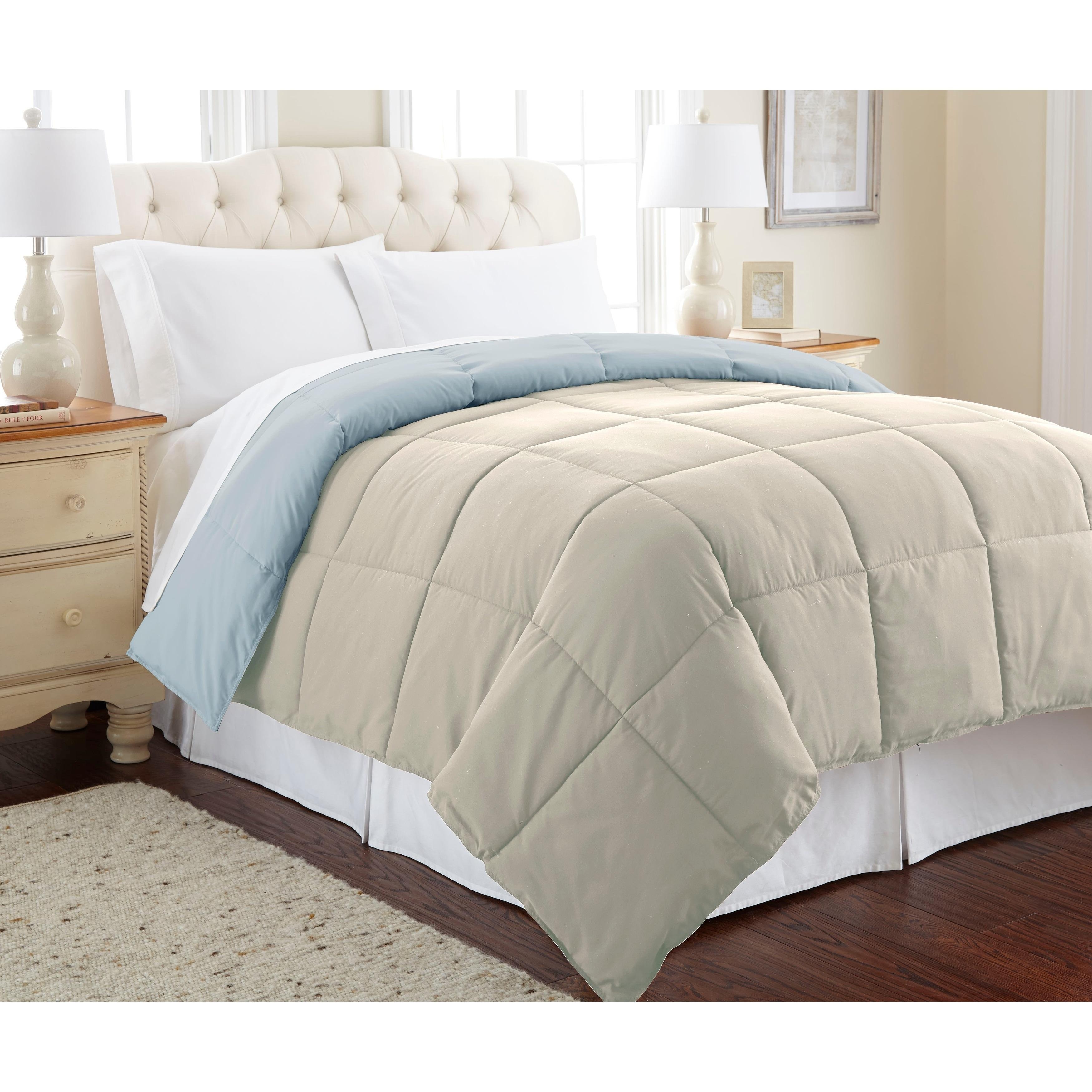 Modern Threads All Season Reversible Down Alternative Comforter Duvet Comforters Comforters King Comforter