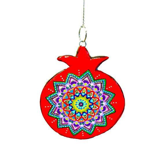 Bat Mitzvah Gift Pomegranate Jewish Art Jewish Symbol Support