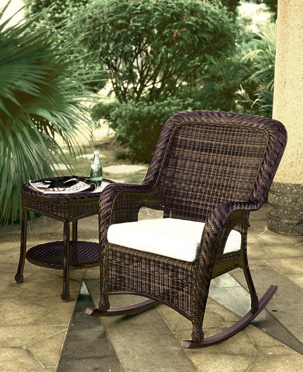 Merveilleux South Sea Rattan Outdoor Furniture   Key West Rocker