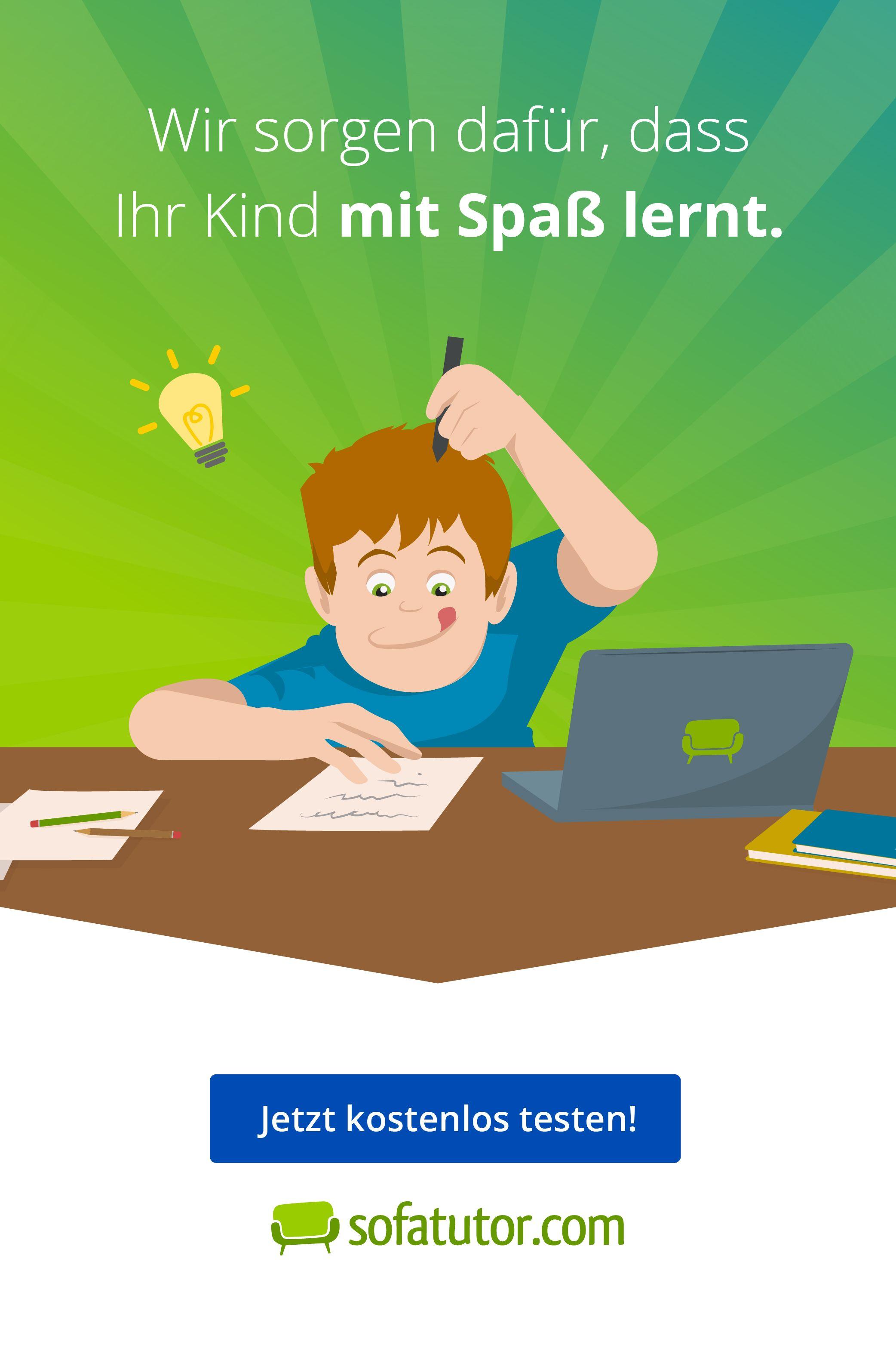 Sofatutor Com Motiviert Und Erfolgreich Lernen Spass Lernen Geschichten Fur Kinder Lernen
