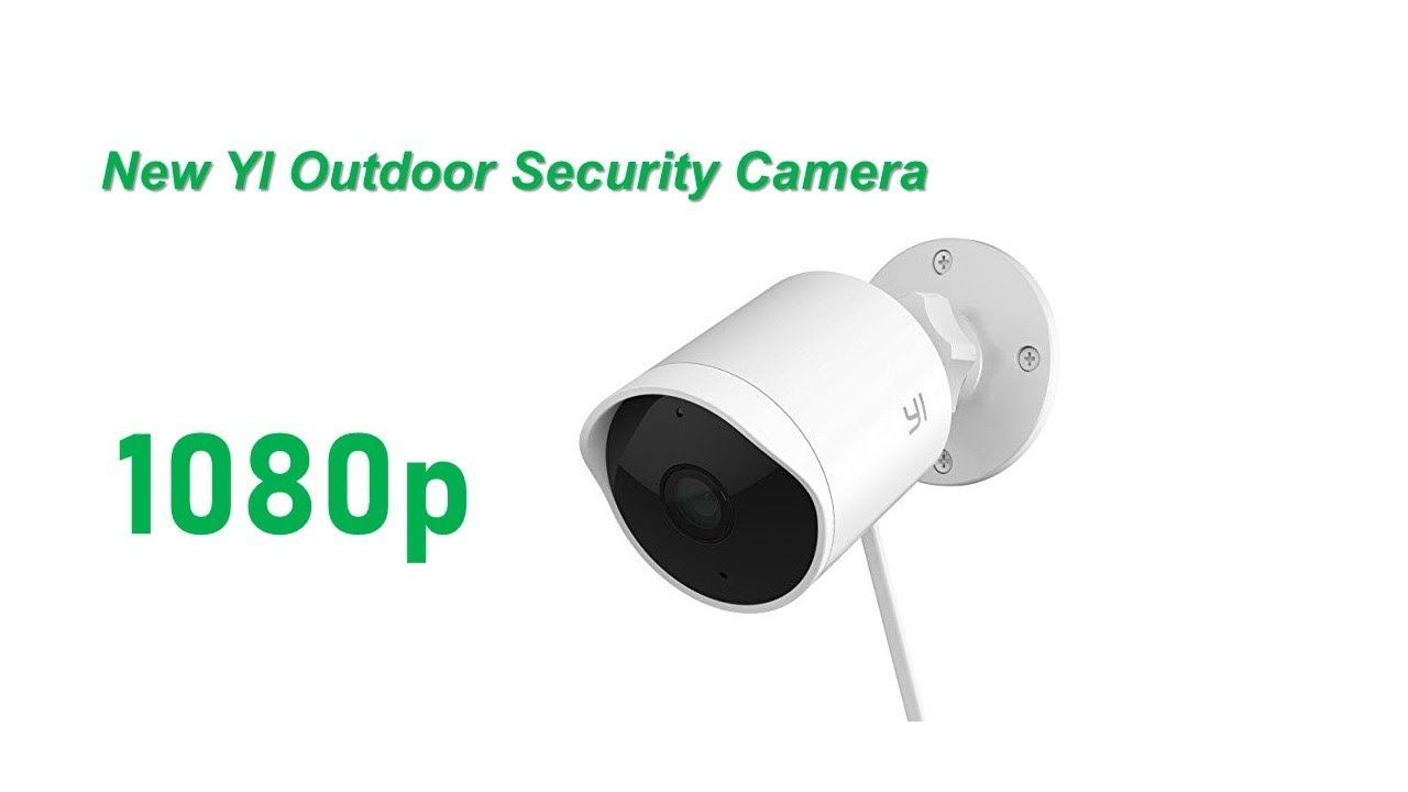 YI Outdoor Security Camera, 1080p Cloud Cam Wireless IP