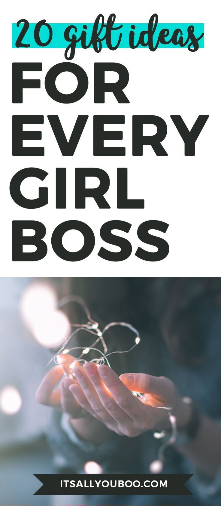 20 gift ideas for every girl boss its all you boo