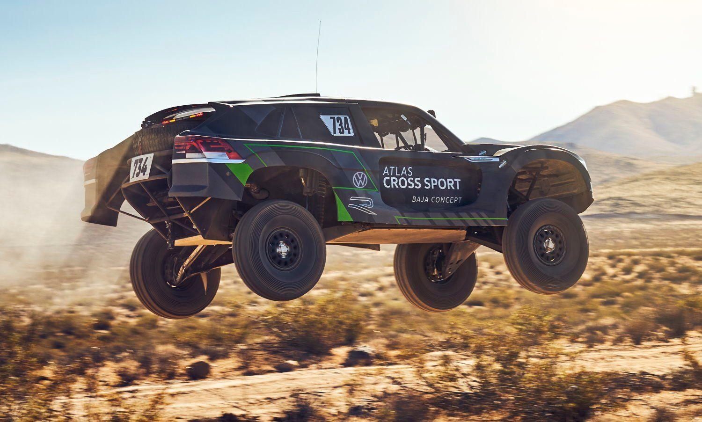 VW Atlas Cross Sport R Is the Trophy Truck to Take the