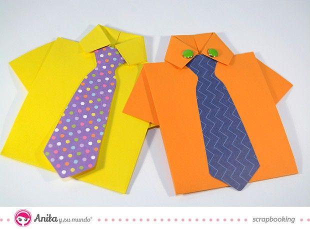 Tarjetas Con Forma De Camisa Para El Dia Del Padre Camisa Dia Del Padre Manualidades Dia Del Padre Manualidades Para El Dia Del Padre