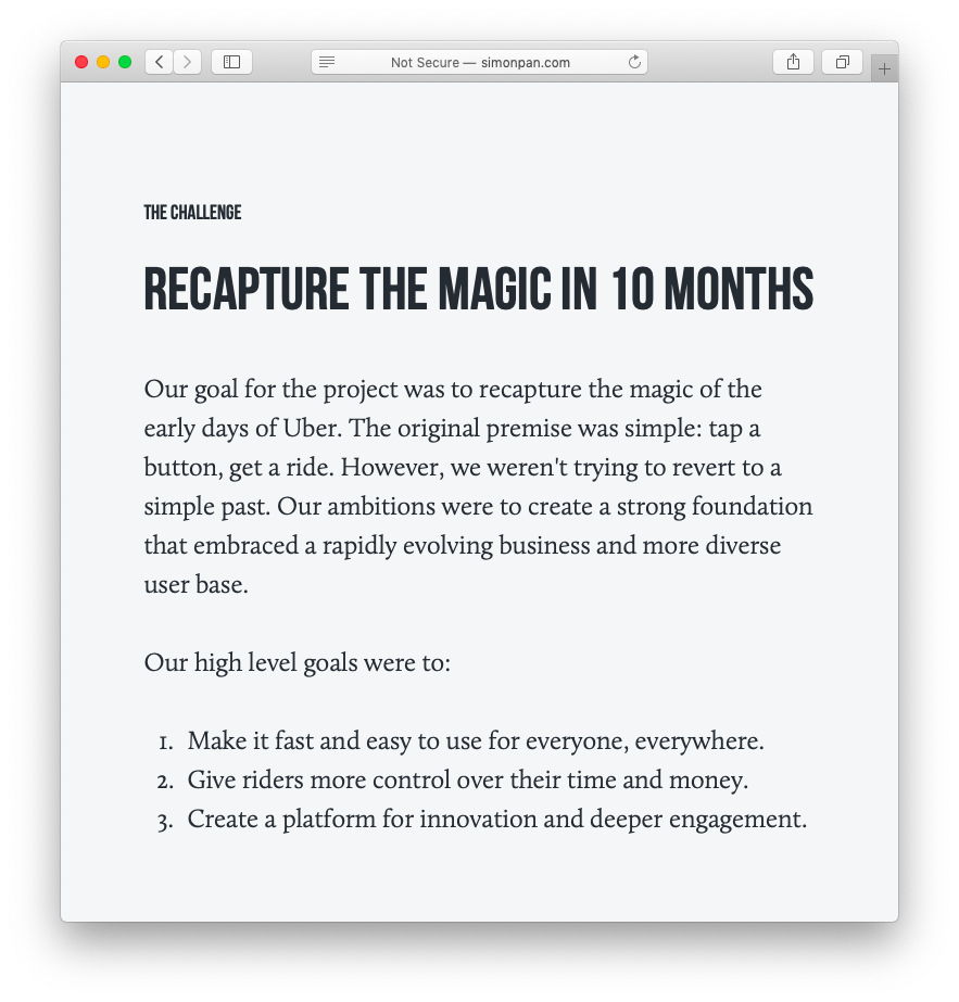 How to write a UX case study  Inside Design Blog  Case study