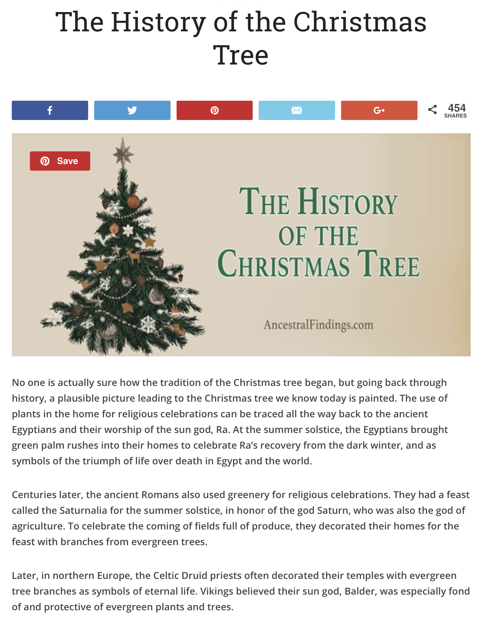 The History Of The Christmas Tree Ancestral Findings Christmas Tree Modern Christmas Tree Christmas History