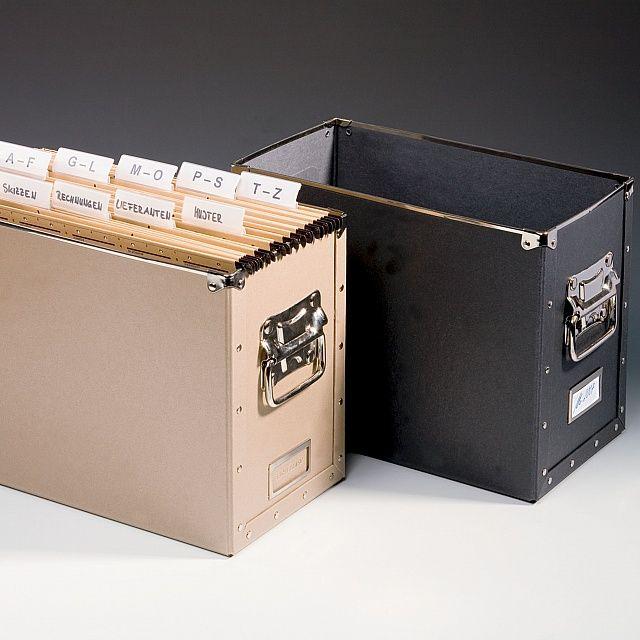 DURA Box for suspension files