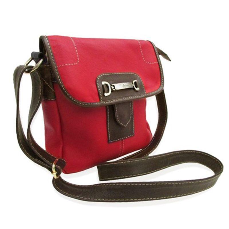 be4f0fc81 Compre Relicário : Bolsa Carteiro de Couro Nancy – Vermelho por R$189,00 -
