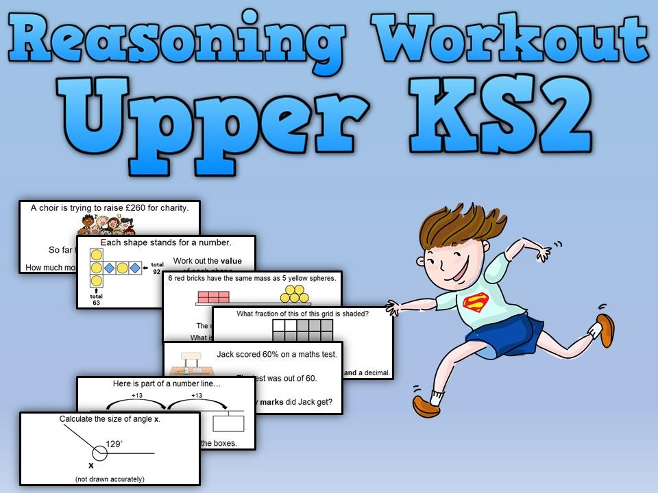 Reasoning Workout for Upper KS2 Primary maths, Studying