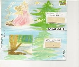 Mail art by Suzie's Art of ATC's For All. Click to view original