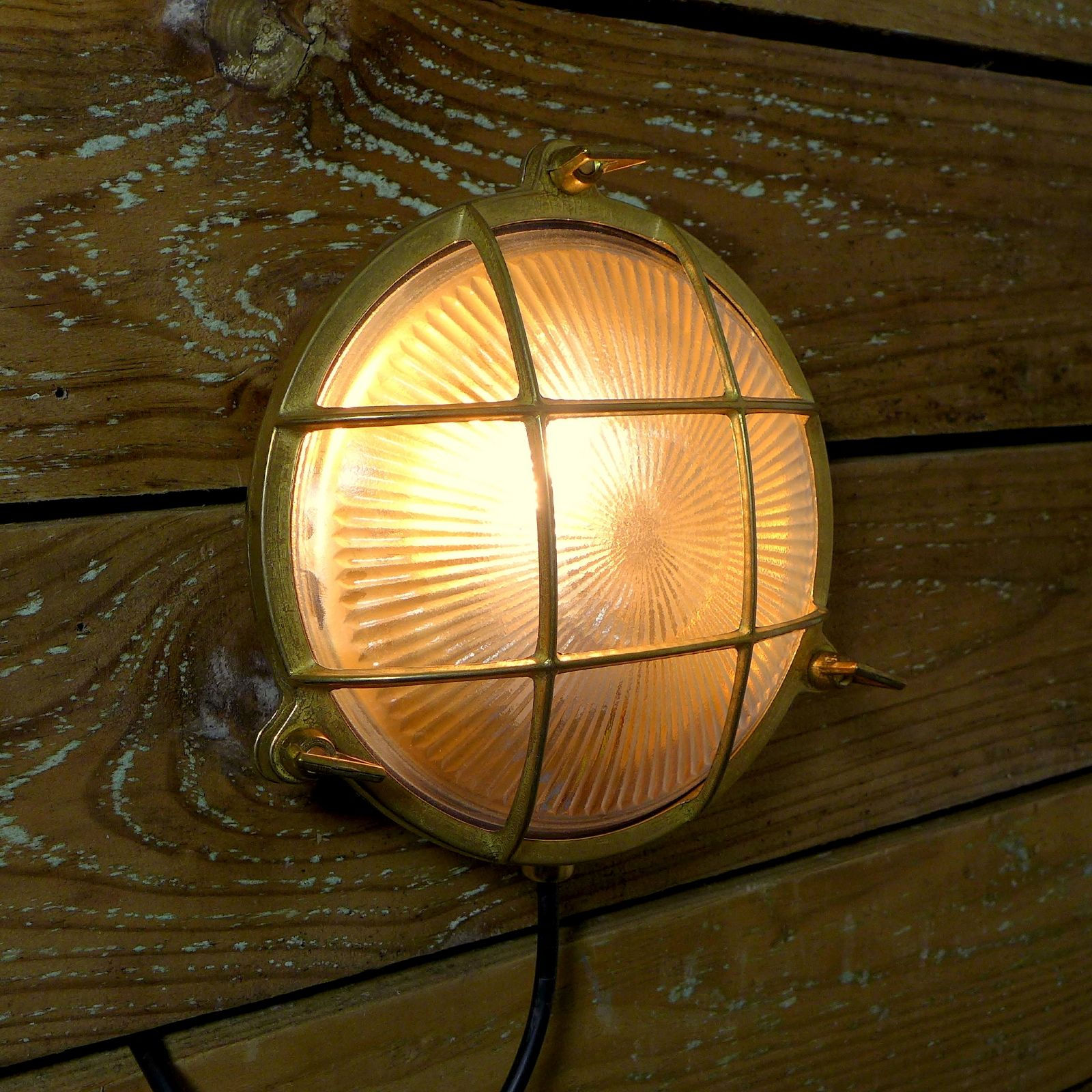 Marine brass caged wall light love this rustic style nautical marine brass caged wall light love this rustic style mozeypictures Choice Image