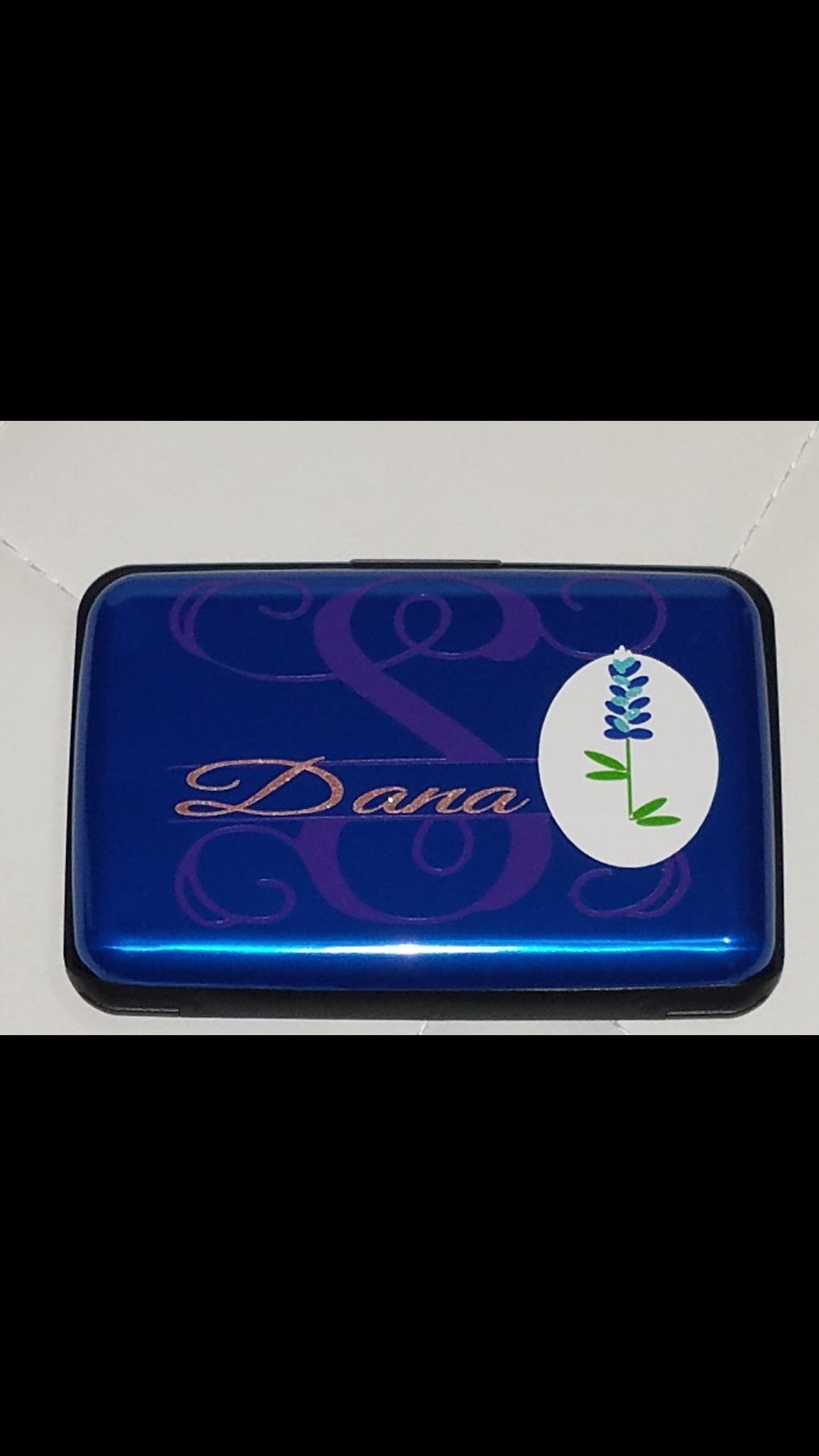 839ace56cc5d This is a custom and handmade vinyl with personalized credit card ...