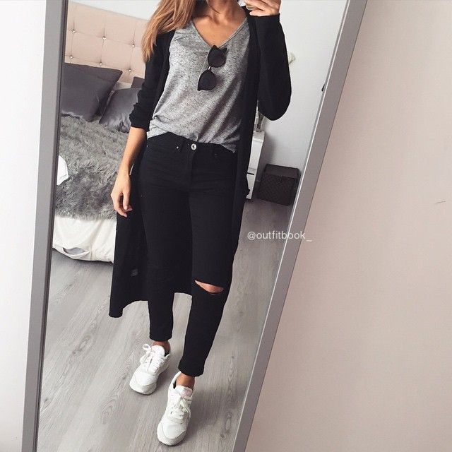 14f48733b1c5 Total www.outfitbook.fr (baskets Reebok Classic nylon) 💣 Cute Sneaker  Outfits