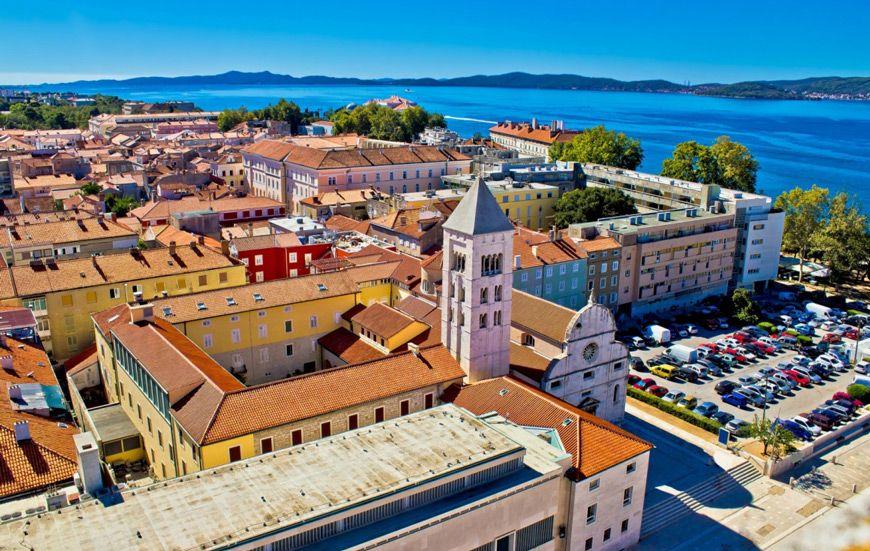Zadar Hrvatskatravel Org Croatia Zadar City View