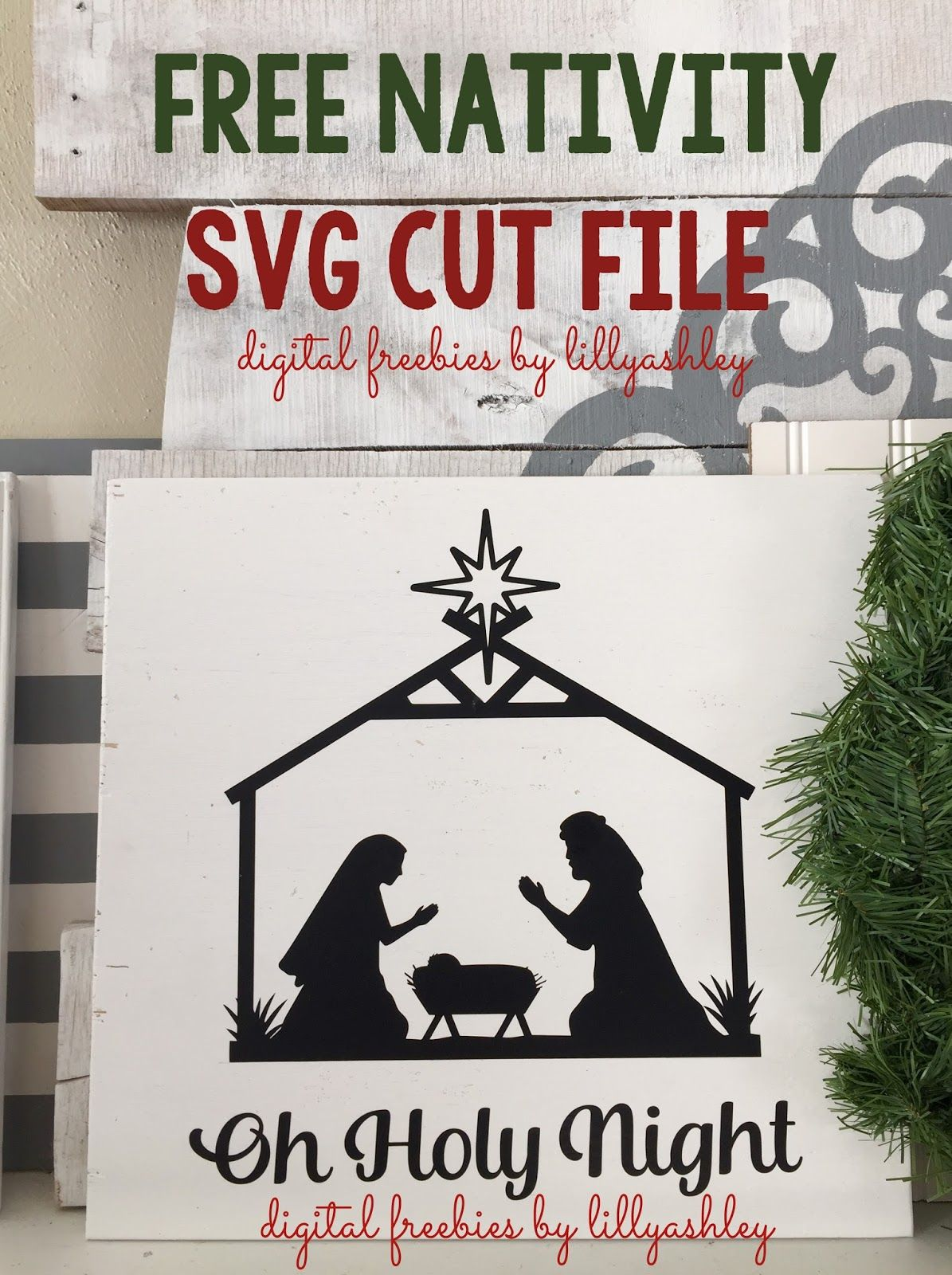 Pin on Cricut / SVG / Nativity