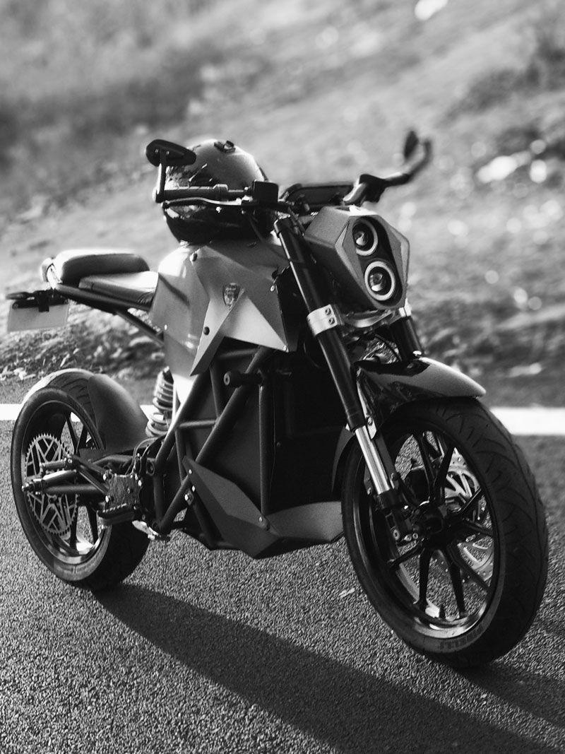 Robust Mkiiir Electric Motorcycle Prototype Electric Motorcycle