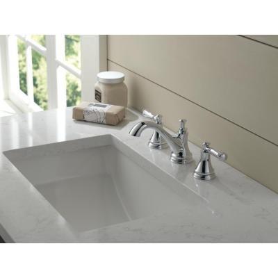 Delta Silverton 8 in. Widespread 2-Handle Bathroom Faucet in Chrome ...