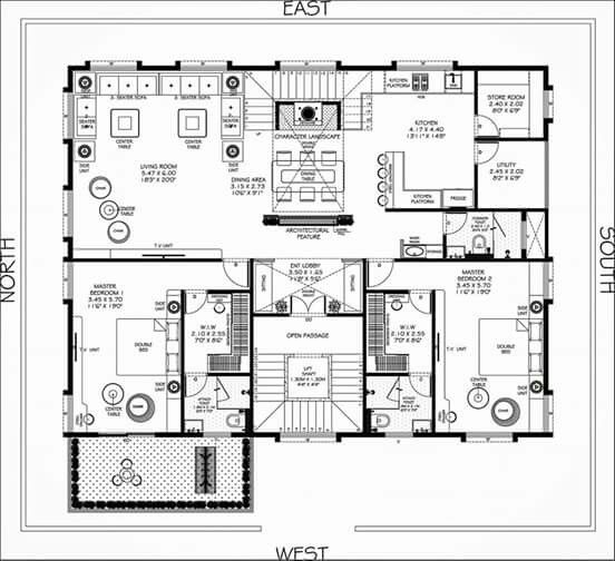 House plans design floor home also best  images in indian rh pinterest