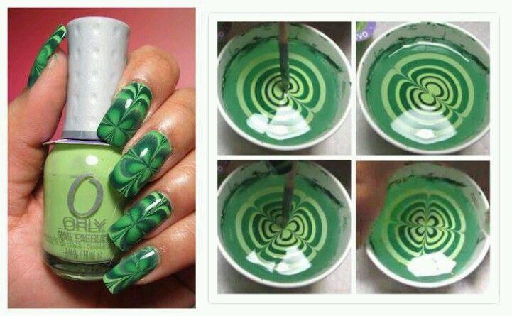 St. Patty's nails!