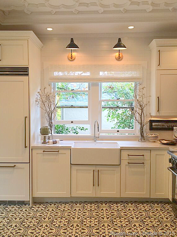 Loved The Circa Sconces Above The Sink And The Fabulous