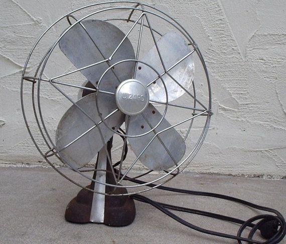 wizard electric fan model 45k60 by habitshmabit on etsy 48 00