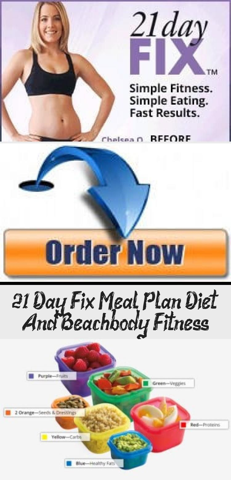 """""""The 21 Day Fix uses a revolutionary portion control plan accompanied with targeted 30-minute workou..."""
