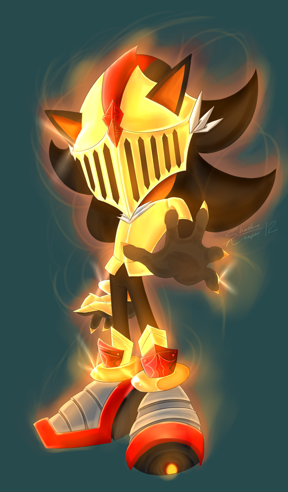 Super Shadow By Myly14 On Deviantart Shadow The Hedgehog Super Shadow Sonic And Shadow