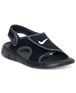 Kids Shoes - Nike Sunray Adjustable Sandals Black