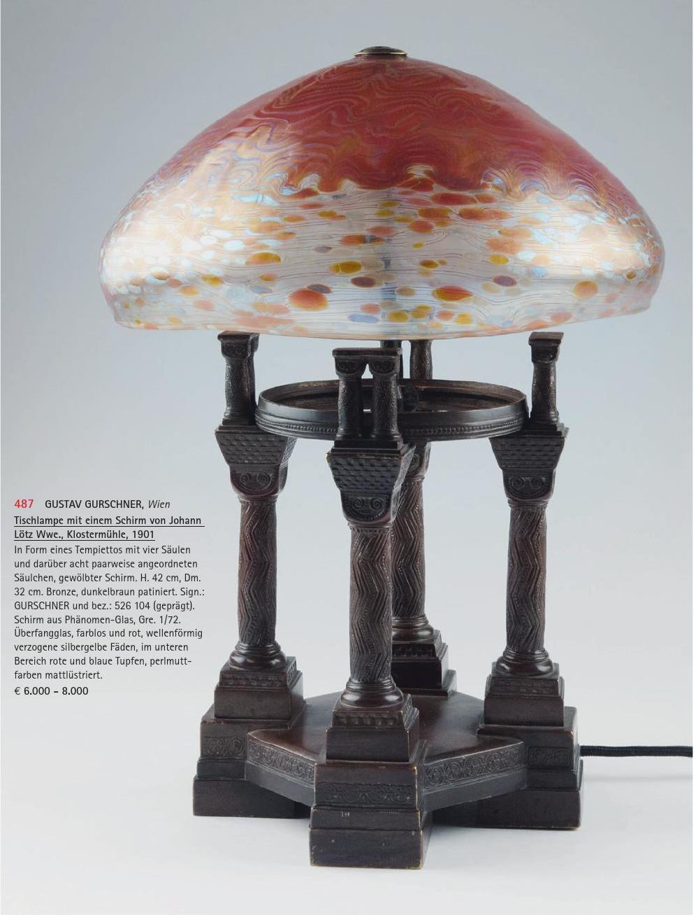 Auction 123 2 Tischlampen Lampen Tisch