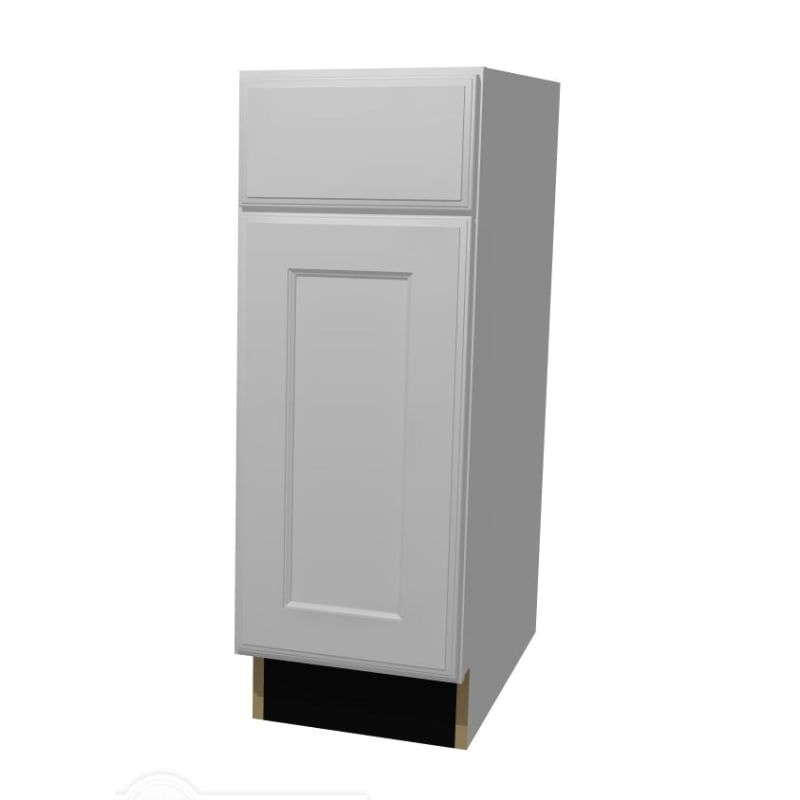 Build Essentials Ral Mp S Sst S C B12r2st 12 Inch Wide Recessed Panel Door Right White Paint Kitchen Cabinets Base Cabinets 12 Inch Paint Cabinets White Panel Doors Base Cabinets