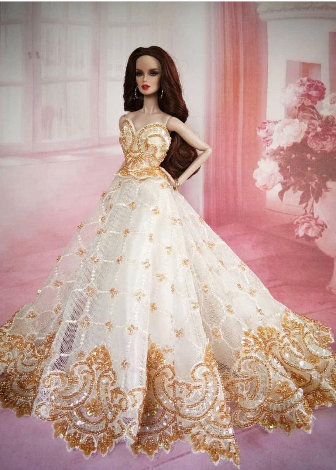 19.19.19/ by adum  Barbie wedding dress, Barbie gowns, Barbie bride