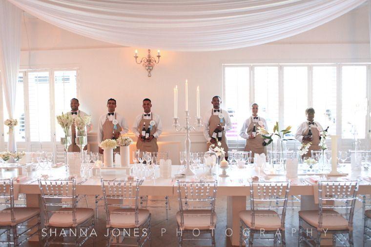 franschhoek wedding the waitors