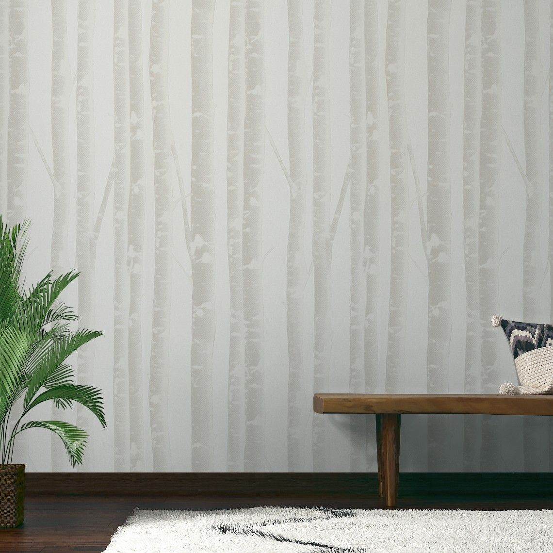 papier peint charly 100 intiss motif troncs d 39 arbre greige maison keket pinterest. Black Bedroom Furniture Sets. Home Design Ideas