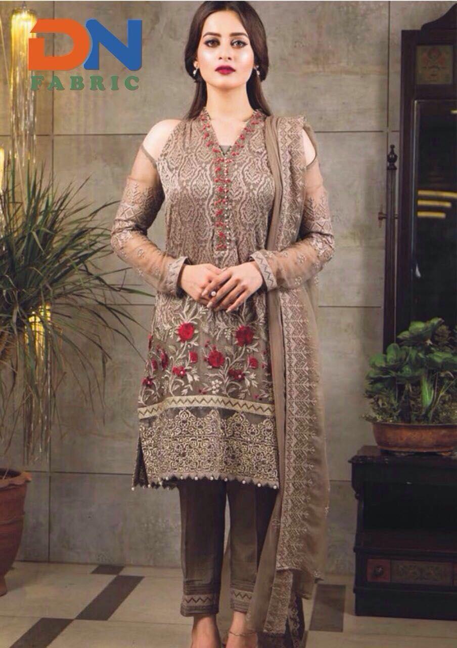 82c41ff63d Imrozia, Imrozia Embroidered Chiffon Dress, Imrozia Chiffon Replica, Master  Quality Replica, Replica